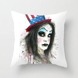 My Best Clown Suit Throw Pillow