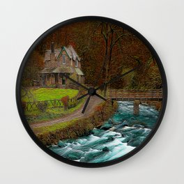 A Secluded View Wall Clock