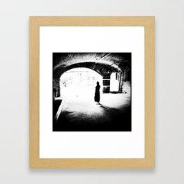Who is here? (spirits ver.) Framed Art Print
