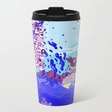 Tiny Worlds - Cinnabar Island Metal Travel Mug
