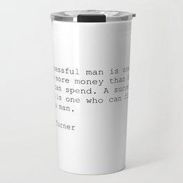 Quote 002 Travel Mug