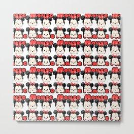 Minnie Tsum Pattern Metal Print