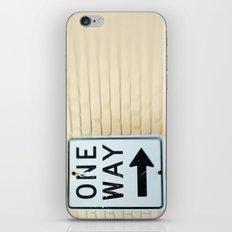 One Way Arrow  iPhone & iPod Skin