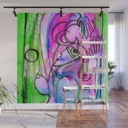 Abstract Nude Goddess No. 40E by Kathy Morton Stanion Wall Mural