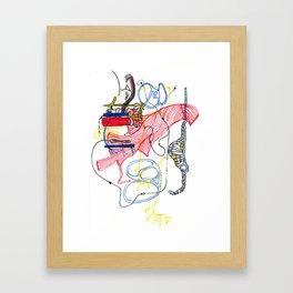 Sensory Systems 2 Framed Art Print