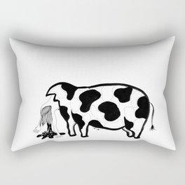 Happy Meat Rectangular Pillow