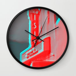 Isis Theater Wall Clock