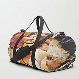 Afro Woman Duffle Bag