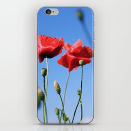 poppy flower no10 iPhone Skin