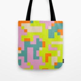 pixel 002 03 Tote Bag