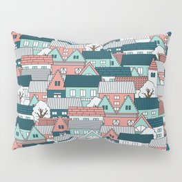 A lot of Houses Pillow Sham