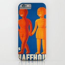 Plakat laines de schaffhouse  laine iPhone Case