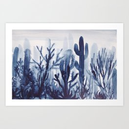 Memory Landscape 5 Art Print