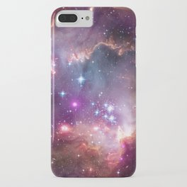 Bright nebula galaxy space and stars hipster geek cool geeky gift iPhone Case