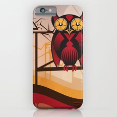 Red Owl at Dusk Slim Case iPhone 6s