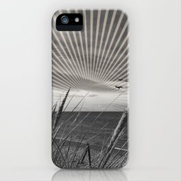 Before the storm - sunset graphic iPhone Case