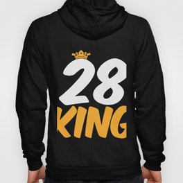 28. Birthday Present 28 Years Old Funny Gift Hoody