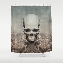 Dead eagle Shower Curtain