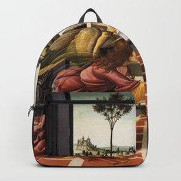 Sandro Botticelli - Cestello Annunciation Backpack
