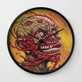 Zombie - That Tasted So Good! Wall Clock