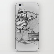 Joyful Noise -- Black and White Variant iPhone & iPod Skin