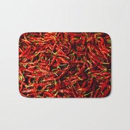 Chili in the Sun Bath Mat