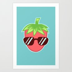 Strawberry Fresh Art Print