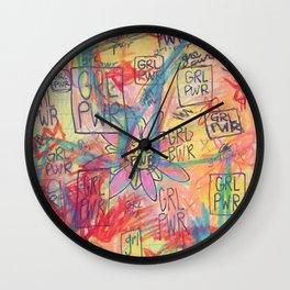 GRL PWR Wall Clock