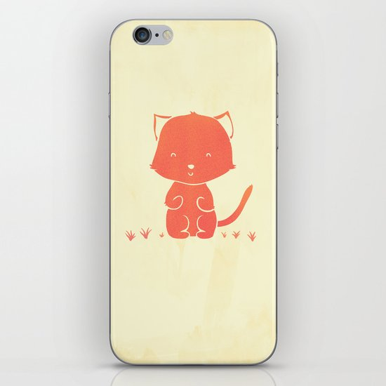 Happy Cat iPhone & iPod Skin