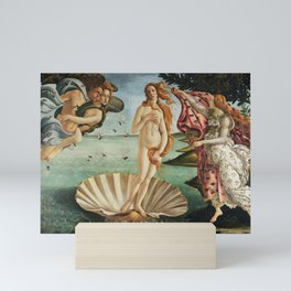 The Birth of Venus by Sandro Botticelli, 1445 Mini Art Print
