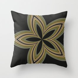 Fractal Star Aura in CMR 01 Throw Pillow