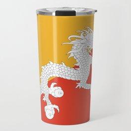 Bhutanese flag Patriotic Bhutan Flag Travel Mug