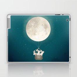 moon bunnies Laptop & iPad Skin