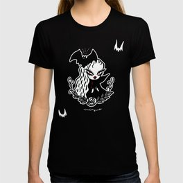 Lady Vamp -  for dark color T-shirt