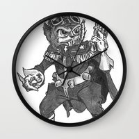 bucky Wall Clocks featuring Bucky O'Hare by Hartless