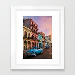 Colorful Havana Framed Art Print