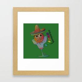 Adventures with Goober - Margarita Framed Art Print