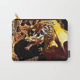 Golden Dragon Laughs Carry-All Pouch