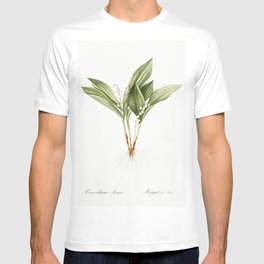 Lily of the valley  from Les liliacees (1805) by Pierre-Joseph Redoute T-shirt