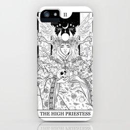 Tarot - The High Priestess iPhone Case