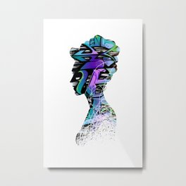 Royal Graffiti Metal Print
