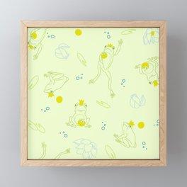 The Frog Prince Framed Mini Art Print