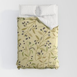 Olive branches pattern Comforters