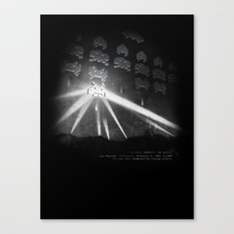 World Invasion Canvas Print