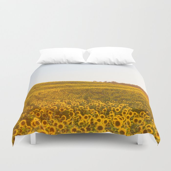 Field of Sunshine Duvet Cover