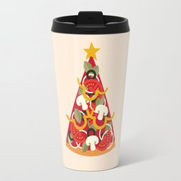 PIZZA ON EARTH - VEGO/VEGAN VERSION Travel Mug