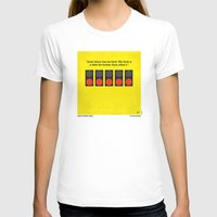 senna T-shirts featuring No075 My senna minimal movie poster by Chungkong