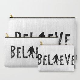 I Believe Yeti Bigfoot Sasquatch Carry-All Pouch