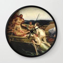 Odyssey By James Herbert Draper Wall Clock