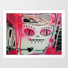 Hidden Monster Art Print